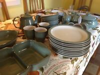 Large Quantity of Denby Regency Green some never used