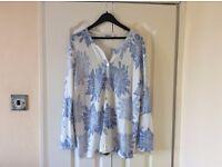 Summer floral lightweight cardigan