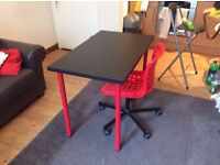 Simple Desk and Chair - Good Condition