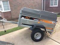 New erde 143,trailer with hardtop