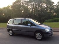 VAUXHALL ZAFIRA 1.6 SEVEN 7 SEATER. ONLY 67,000 MILES. LONG MOT UNTIL MARCH 2019. GREAT CONDITION