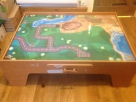 World of imagination Train table and accessories