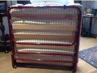 Collapsible sofa-bed style Z bed, Rutland. Very good condition £30