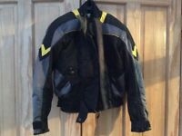 Motorbike jacket ..Frank Thomas .Gore-tex .