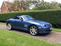 2005 Chrysler Crossfire Roadster. Low mileage. Lady owner for last 7years.