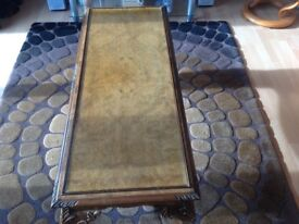 Antique style coffee table from Jenners of Edinburgh