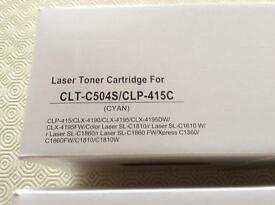 Laser toner for various printers, inc Samsung.