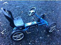 Kids batman pedal go cart