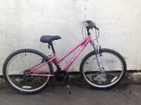 Girls mountain bike Suitable for ages approx 7-12