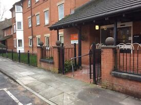 Over 55's ground floor flat to rent Hamilton House, 57 Hanson Street, Bury BL9 6LR -no bond required