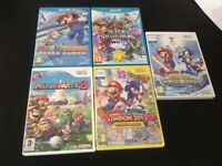 Mario Wii games all in great condition £4 each