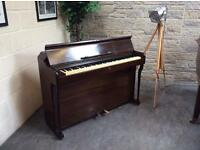 1985 Spencer, London miniature overstrung upright piano - CAN DELIVER