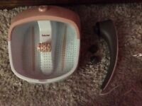 Beurer foot spa and massager - Brand New
