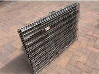 2Large dog cages 38x24x24 Croft make. £25 each.