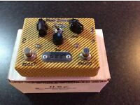 HBE Power Screamer overdrive pedal, rare tweed finish