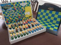 Simpsons 3D Chess Set