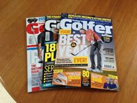 Today's Golfer and Car Magazines.