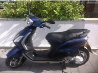 Piaggio Fly Moped, very clean condition, long MOT, 3500 miles, only 1 previous owner