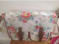 cath kidson style floral cross over bag