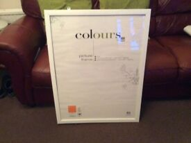 """B&Q """"Colours"""" picture frame"""