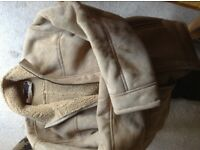Men's Suede effect Beige Jacket, L.