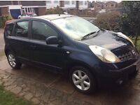 Nissan Note 1.4 SE Petrol Manual -Very Good Condition