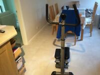 Twist and step machine