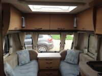 Elddis Crusader Shamal (2013) with Motor Mover & Air Con. In good condition
