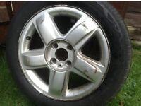 4 Part worn tyres - 185/55R/15