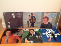 ANDY WILLIAMS. SIX Vinyl LPs