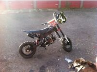 125 pit bike for sale must go ASAP