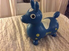 Rody the inflatable horse