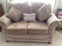 2 seater sofa, as new, scarcely used