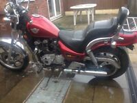 1990 H Registered Kawasaki EN500 with 454 Engine. Good condition with MOT