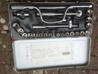 Socket Set, Axle Stands & Hydraulic Jack
