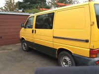 VW Transporter T4 combi 2.5 Tdi 127k miles £2500 spent in the last year