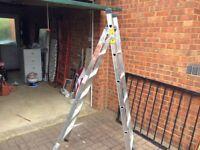 Alaminium step ladders