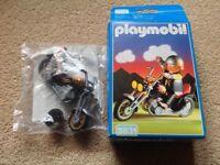 Playmobil motorbikes x2