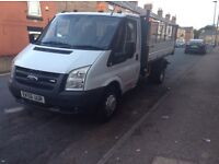 Very clean Ford Transit tipper 100/350 56plate £5200 or swap for transit van