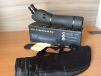 Clubman 60 mm Spotting scope in box used once