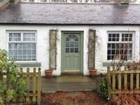 Methlick Cottage to rent. Available April 18