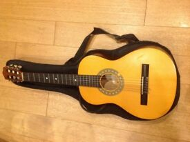 3/4 Size Guitar with case