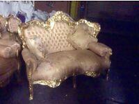 Gorgeous French rococo sofa set