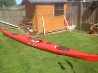 Sea Kayak .Valley Aquanaut LV in excellent condition.