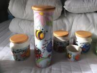 Dunoon Pottery Storage Jars
