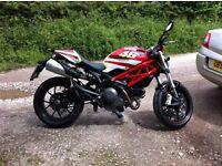 Ducati monster 796 rossi 2012