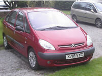 citreon picasso turbo diesel low miles geniune 48000 mls yes only 48k 20hdi 2001