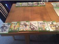 6 X Box 360 Games £1O