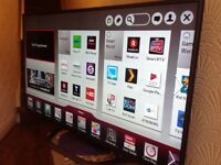 LG 47-inch Smart LED FULL HD TV with built in Wifi,Freeview & FREESAT HD,GREAT Condition