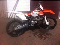 KTM 250 SX 2016 MODEL ROAD REGISTERED VERY LOW HOURS NOT EXC XC